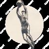 Vintage_Emblem_Volleyball