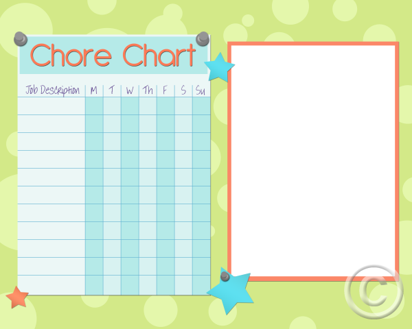 chore charts