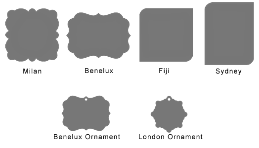 plaque shapes templates - Shapes Templates