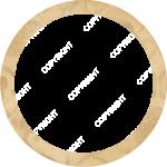8x8_Round_Metal_Print_PaperFloral