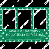 Christmas015_Green_5x7_H