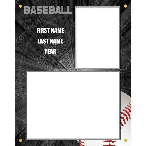 rpl_sports_black_baseball_black_8x10_memorymate_woodplaque_vertical