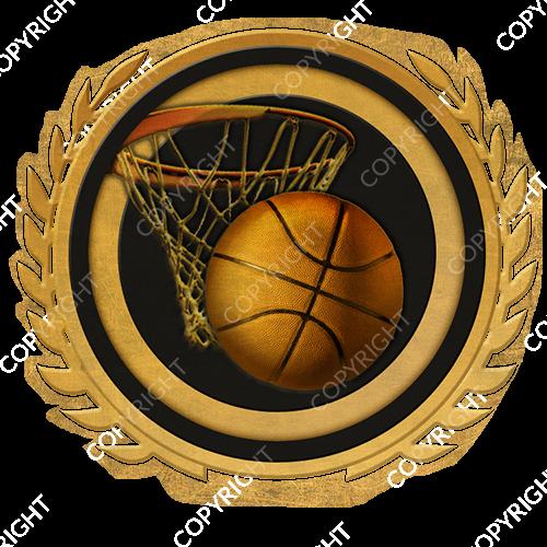 Emblem_Gold_Black_basketball