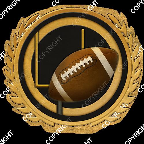 Emblem_Gold_Black_football
