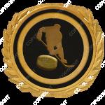 Emblem_Gold_Black_hockey