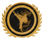 Emblem_Gold_Black_martial_arts