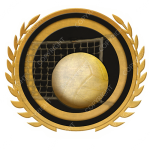 Emblem_Gold_Black_volleyball
