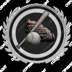 Emblem_Silver_Black_baseball