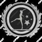 Emblem_Silver_Black_gymnastics