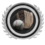 Emblem_Silver_Black_softball