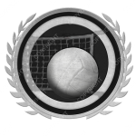 Emblem_Silver_Black_volleyball