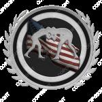 Emblem_Silver_Black_wrestling